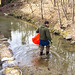 Adopt a Stream Black's Run clean-up near The Little Grill