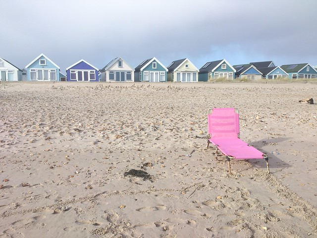 Lounger at hengistbury head