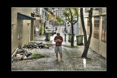 Street Photographer in HDR (Ringgo Gomez) Tags: 1001nights nikon80200mm flickraward malaysianphotographers concordians nikond700 perfectphotographer sarawakborneo 1001nightsmagiccity flickraward5 mygearandme flickrawardgallery
