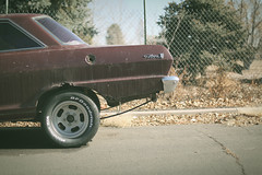 (tin woody) Tags: auto classic chevrolet nova car vintage rust chevy mags
