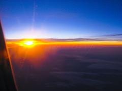 Sunset High Above the Ground *** Explored (Marina BN) Tags: sunset sky sun window clouds flying inflight horizon clear autofocus thegalaxy flickraward explorewinnersoftheworld flickraward5 mygearandme rememberthatmomentlevel1 marinabwfs