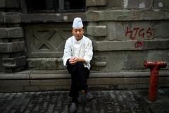 Break From Smokey's Kitchen (* Hazman Zie *) Tags: leica shanghai 28mm explore chef asph m9 elmarit elmarit28mm leicam9 elmaritm28mmf28asph