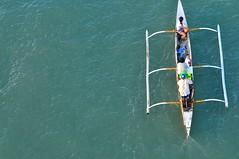 This is The Day! (Trim Reaper) Tags: family sea boat nikon philippines parade cebu minimalism nikkor devotees mactan sinulog banca 70200mm santonino fluvial vr2 vrii iamnikon itsmorefuninthephilippines