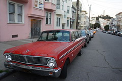 SF (AndersHolvickThomas) Tags: color tower ford colors car station wagon san francisco coit