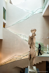 Ashmolean Museum ([J Z A] Photography) Tags: uk glass statue museum stair roman oxford classical ashmolean rickmatherarchitects jzaphotography