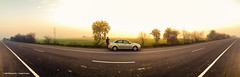 Country Road (Angad) Tags: road country roadtrip trip car drive dawn twilight winter earlymorning village panorama