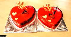 cake_vday (ADesignerGuy) Tags: life camera party food color cute slr love cake photography couple flickr day heart inspired couples photographers valentine lovers celebration celebrations valentines forever lovely celebrate partner beloved celebrated insprations