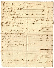 Domestic account, nd (P&KC Archive) Tags: family history fashion scotland 17thcentury perthshire scottish domestic document archives comrie accounts perthandkinross strathearn historicaldocuments palaeography ecsochistory