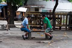 _DSC1469 (Kohji Iida) Tags: street old city senior japan photography la hall university blind metro guitar box philippines chess sm manila donation filipino vendor ateneo tambay salle kohji iida