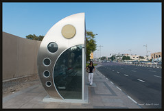 Air conditioned bus stop (Samsul Adam) Tags: dubai united uae emirates arab souk unitedarabemirates jumeirah madinat soukmadinatjumeirah