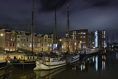CITY LIGHTS-OOSTERHAVEN/GRONINGEN (Wim Hazenhoek.) Tags: netherlands wonderful perfect photographer nederland wim gitzo masterpiece top20longexposure meesterwerk nikkor2870f28 overtheexcellence nikond700 wimhazenhoek gt3330ls gh1781qr