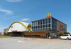 Glass House McDonald's (Eridony (Instagram: eridony_prime)) Tags: oklahoma mcdonalds glasshouse vinita craigcounty