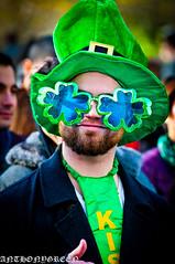 StPatrick'sDayParade2012(NYC) (bigbuddy1988) Tags: new city nyc portrait people usa ny newyork man male green art hat festival america fun happy photography us costume amazing cool nikon funny good manhattan great parade d300 stpatricksdayparade nikond300