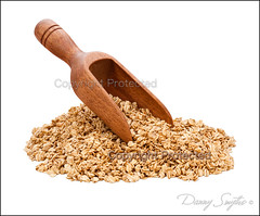 Granola Scoop isolated - Stock Photo (Danny Smythe) Tags: food macro closeup breakfast cutout wooden healthy object cereal nobody whitebackground snack vegetarian stockphotos studioshot organic diet grano