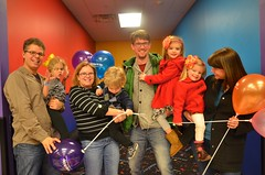 The Eight Of Us (Joe Shlabotnik) Tags: balloons lily violet peter sue madeleine everett pumpitup sarahp faved bliksem 2013 march2013
