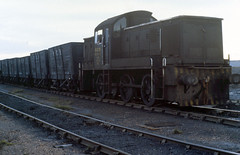 1983-11-30 D9500  Lynemouth (delticalco) Tags: br 14 rail trains railways britishrail ncb industrialrailway exbr