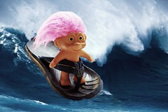 Gnarlatious dude (Allan Saw) Tags: doll surf thong flip troll flop