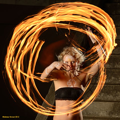 Kelsea (naturalturn) Tags: sanfrancisco california longexposure woman usa night fire dance dancing spinning firespinning firedancing fans presidio kelsea firedance firefans image:rating=4 image:id=128491
