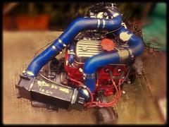 A series 1293cc mini/metro turbo engine (Mac 2994) Tags: black classic austin metro 1988 jet dump mini rover turbo le valve bailey limited edition 1275 jetblack aseries 1293 998cc 150bhp