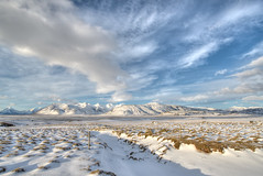 Snowy Iceland (TrevinC) Tags: travel sky clouds iceland europe hdr nikond600 1424mmf28