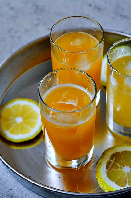 Orange Lemon Juice Recipe-Welcome Drink Recipe