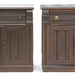118. Two Similar Eastlake Cabinets