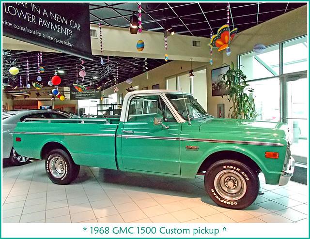 pickuptruck alltypesoftransport 1968gmcpickup lafontainebuickgmc