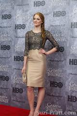 "Sophie Turner at HBO's ""Game Of Thrones"" Season 3 Seattle Premiere at Cinerama"