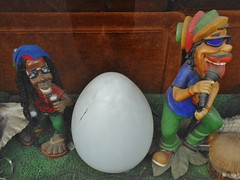 Groovy Dolls (mikecogh) Tags: shop dreadlocks cool dolls display egg statues singers hip reggae groovy rastas