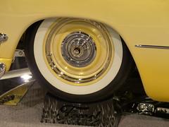 1950 Ford Club Coupe Custom (bballchico) Tags: ford wheel tire custom rim 1950 whitewall clubcoupe carrshotrodscustoms