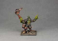 Orc Shaman (Spooktalker) Tags: citadel 28mm painter warhammer monsters 25mm manufacturer orcsgoblins paintedbyspooktalker sculptedbykevadams