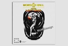 The Monster Ball Tour (*Nuke*) Tags: monster lady ball tour cd cover manip gaga blend the