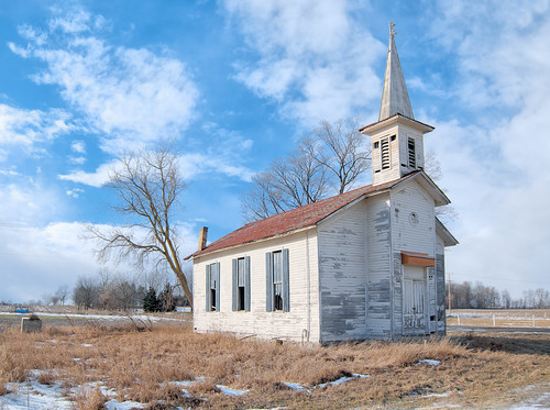 Abandoned Ionia Church