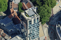 The penthouse appartment in Norwich's Westlegate Tower is currently for sale for 1.35m (John D F) Tags: norwich norfolk westlegatetower eastanglia aerial aerialphotography aerialimage aerialphotograph aerialimagesuk aerialview droneview websters westlegate westlegatepedestrianisation