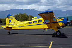 N904AK - De Havilland Canada DHC-2 MK. I(L20A)  - Alaska State Forestry - PAAQ - July 2016 (peachair) Tags: n904ak de havilland canada dhc2 mk il20a alaska state forestry paaq july 2016 palmer