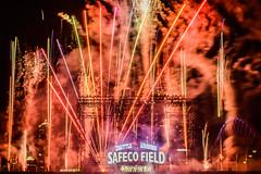 _DSC0747 (marilynwe) Tags: 2016 becca chris family marinersgame rebecca safecofield turnerfamily fireworks