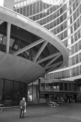 City Hall, Toronto (Richard Wintle) Tags: foma fomapan 200 adox adonal bw blackandwhite monochrome film 135 35mm canon sureshot sureshotmax 38mm f35 toronto ontario canada cityhall