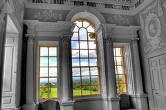 A Country View (Billy McDonald) Tags: hdr selectivecolour countryview chatherault windows scotland huntinglodge