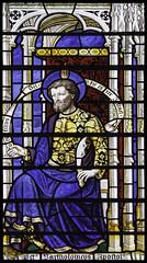 St Bartholomew (Lawrence OP) Tags: apostles saints downside abbey comper stbartholomew