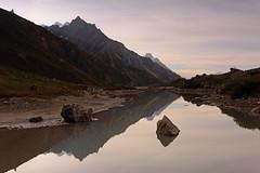Chiphon: Still water (Shahid Durrani) Tags: biafo glacier karakorams gilgit baltistan pakistan