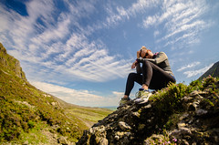 To the top (exenza) Tags: climb landscape mountain portrait sporty top woman