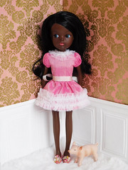 Coco (Cossette...) Tags: doll sindy custom liccabody black african pedigree cossette