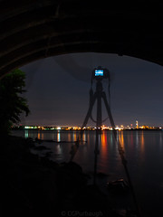 Metaphysical Supernatural (CGPurbaugh) Tags: meta olympus sunset baltimore harbour river city