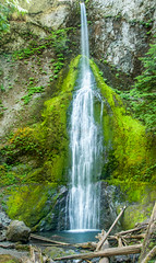 Marymere Waterfalls, Olympic National Park (Abhijit B Photos) Tags: portangeles washington unitedstates us water waterfall green stream olympicnationalpark pacific northwest silky soothing marymere waterfalls outdoor nature landscape