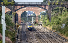 GWR HST Sonning (Geoff Griffiths Doncaster) Tags: gwrhstsonning gwr hst sonning 1p39 high speed train 125 inter city