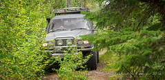 overgrown (fantomdesigns) Tags: bj42 toyota land cruiser off road 4x4 camping forest