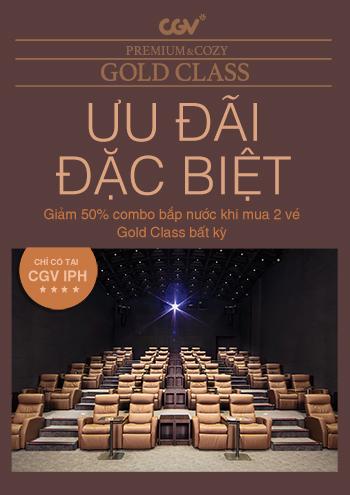 Giảm 50% Combo Bắp Nước Cho Phòng Chiếu Gold Class