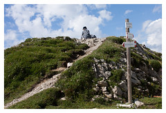 Up (Romina Tripaldi) Tags: nun suora montagna riposo rest riflessione monterite dolomiti