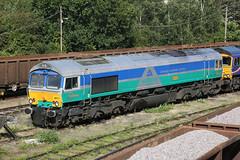 66711 Tonbridge 20-08-16 (Andy The V) Tags: gbrf 66711 sence aggregateindustries tonbridge