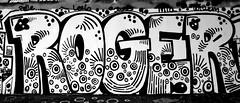 graffiti amsterdam (wojofoto) Tags: amsterdam graffiti streetart wojofoto wolfgangjosten nederland netherland holland amsterdamsebrug hof flevopark roger